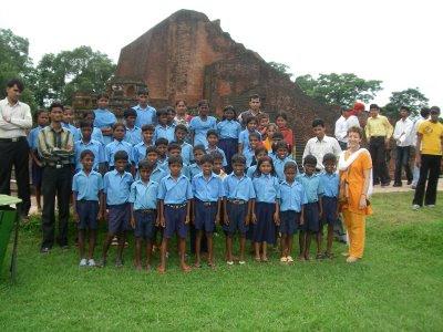 Primera excursión cultural con los niños